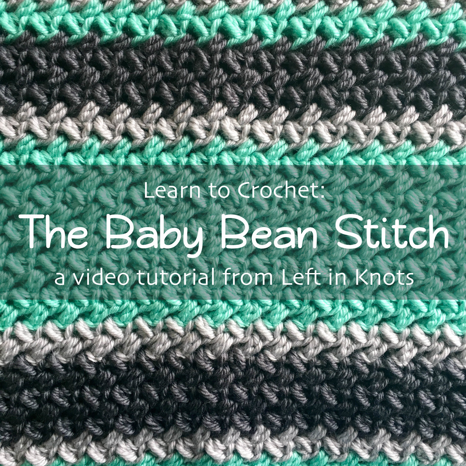 Learn how to crochet this Spider Stitch with this free video ... | 1500x1500