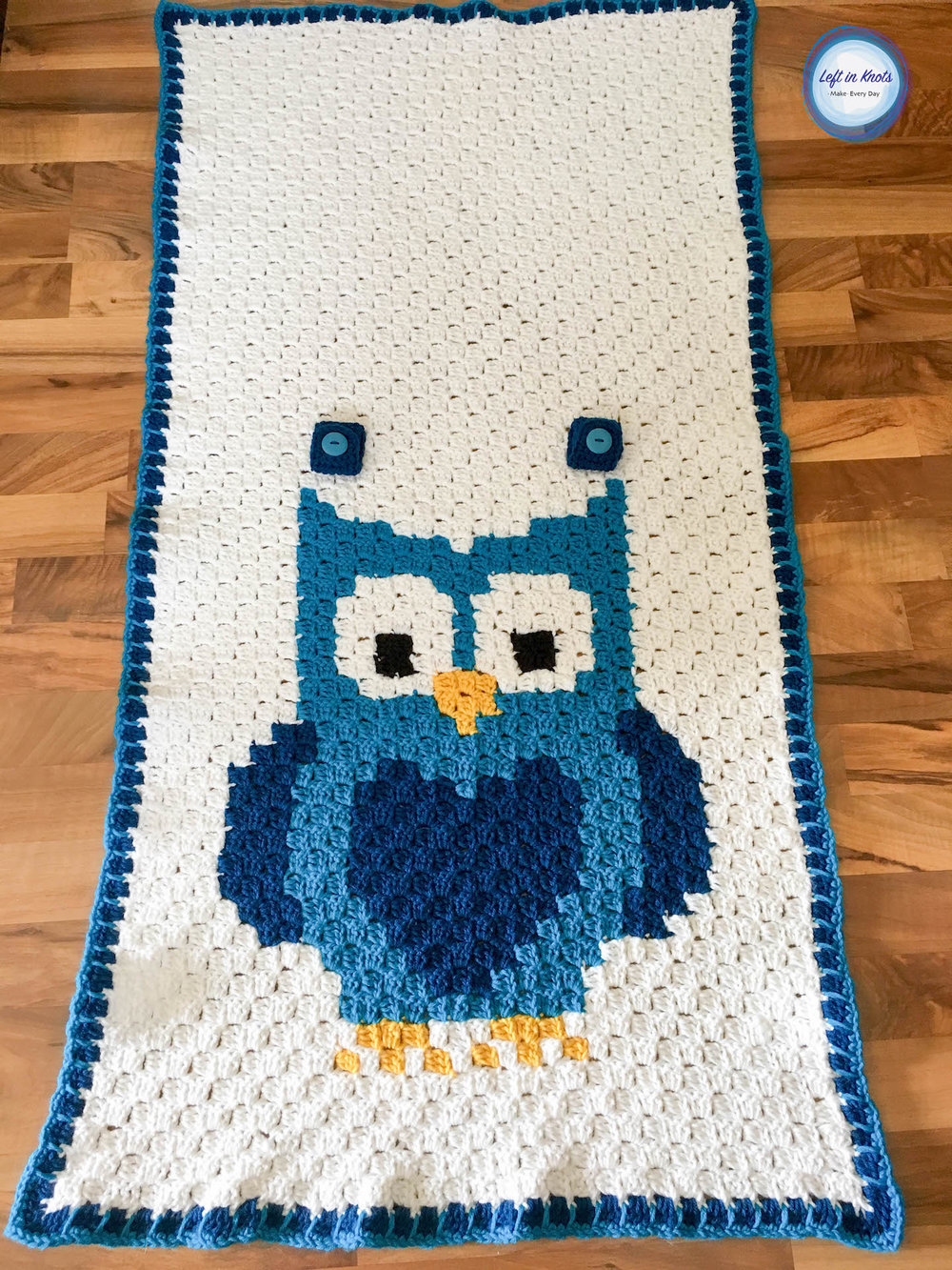 Crochet Owl Car Seat Canopy Left In Knots