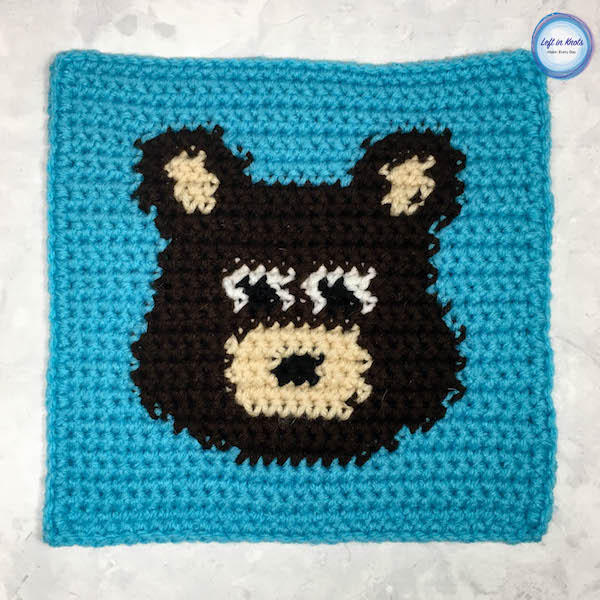 Grids for Kids Forest Friends: Bear