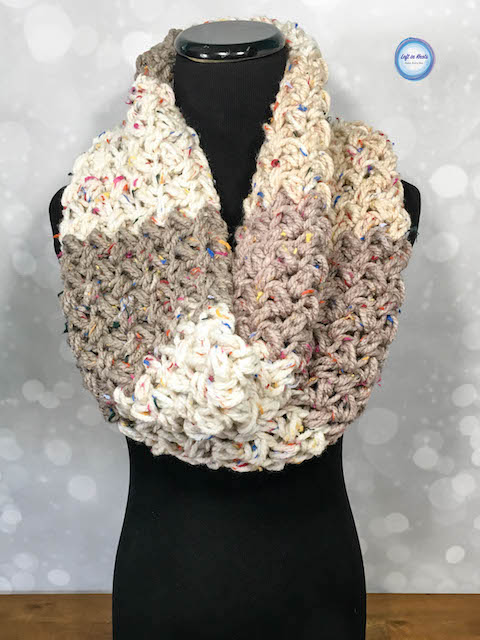 Crochet Sprinkles Cowl - Free Pattern — Left in Knots