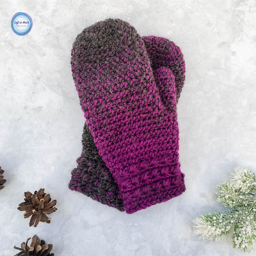 Star Gazers Mittens Crochet Pattern Left In Knots