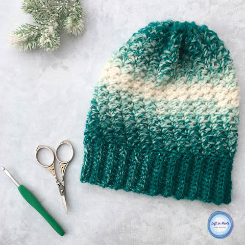 This free crochet pattern combines simple texture with the stunning Lion  Brand Scarfie yarn to create c357af37e18