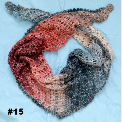 New 15 Free Crochet Patterns for Spring Scarves and Shawls