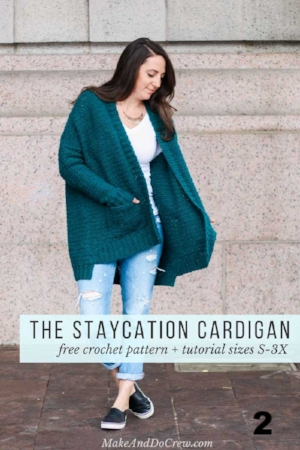 15 Free Crochet Cardigan Patterns For Cooler Weather Left In Knots