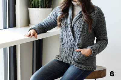 589bce994 15 Free Crochet Cardigan Patterns for Cooler Weather — Left in Knots