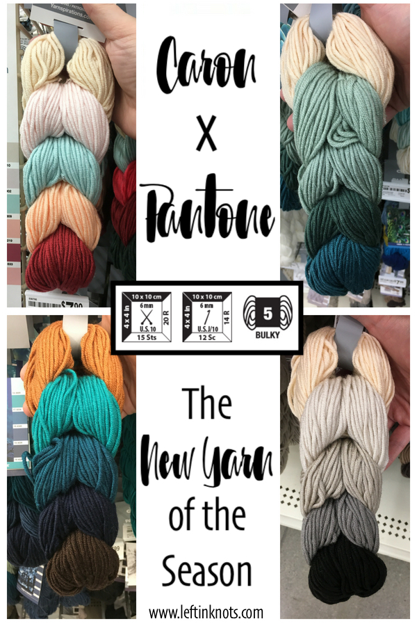 If you haven't heard the news yet, let me be the first one to tell you!  Yarnspirations just release a new line of yarn that is sure to be popular going into the fall and winter season of crocheting!  It is somewhat of a spin off of the infamous Caron Cakes yarn, except this time YOU can control the color changes.  Interested?  Then keep reading to see the new Caron x Pantone yarn, and find out how I bought mine on the cheap