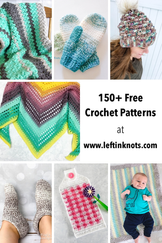 My little crochet blog is turning 3 and I want to celebrate with you! Come check out the future of Left in Knots, see what pattern bundles I just put together for you, and enter to win 10 crochet pattern PDFs of your choice!