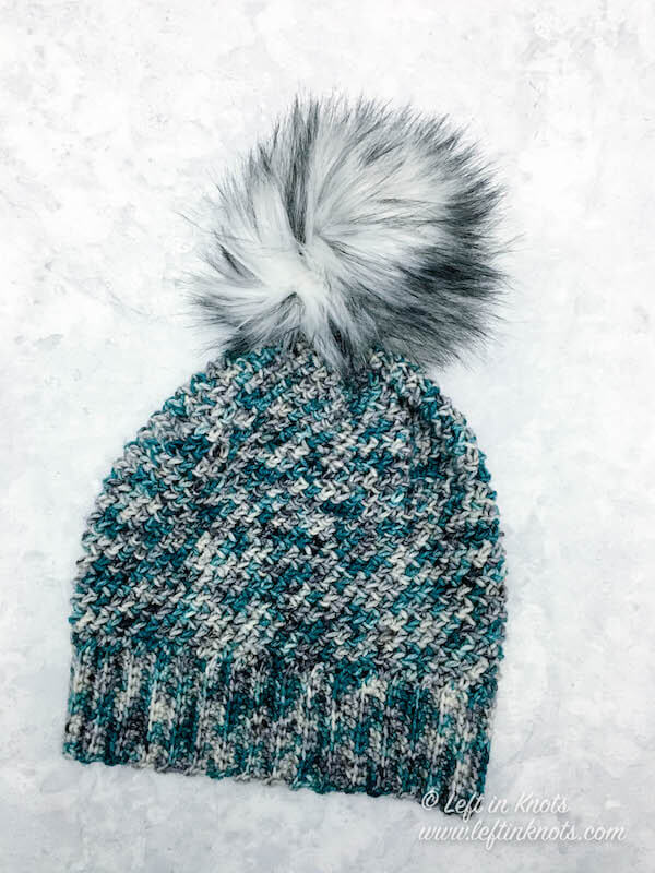 925758fa74d his one skein crochet slouchy hat uses the herringbone HDC stitch in the  round to create