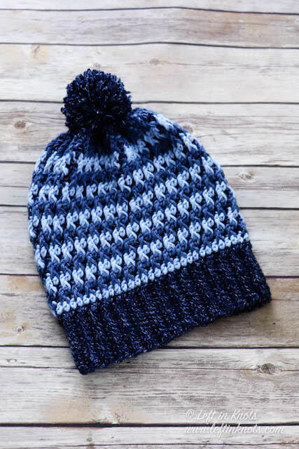 Double Crochet Hat in 10 Sizes - Free Pattern for Beginners