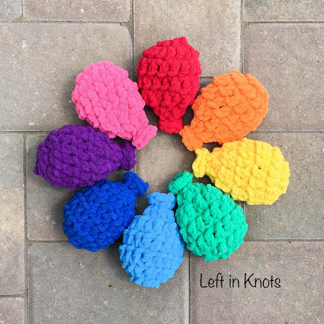 Crochet Pattern Water Balloon : Crochet Water Balloons ? Left in Knots