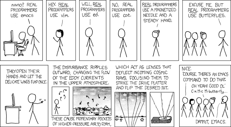 Image credit: XKCD - Real Programmers