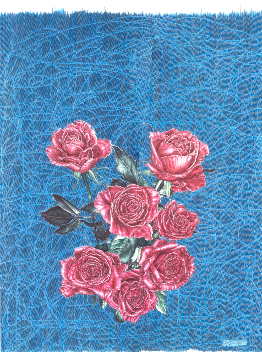 Untitled (Seven Roses)