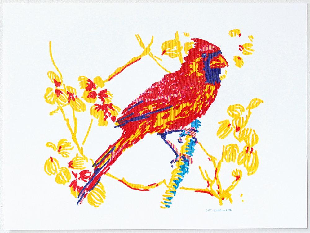 Untitled (Cardinal)