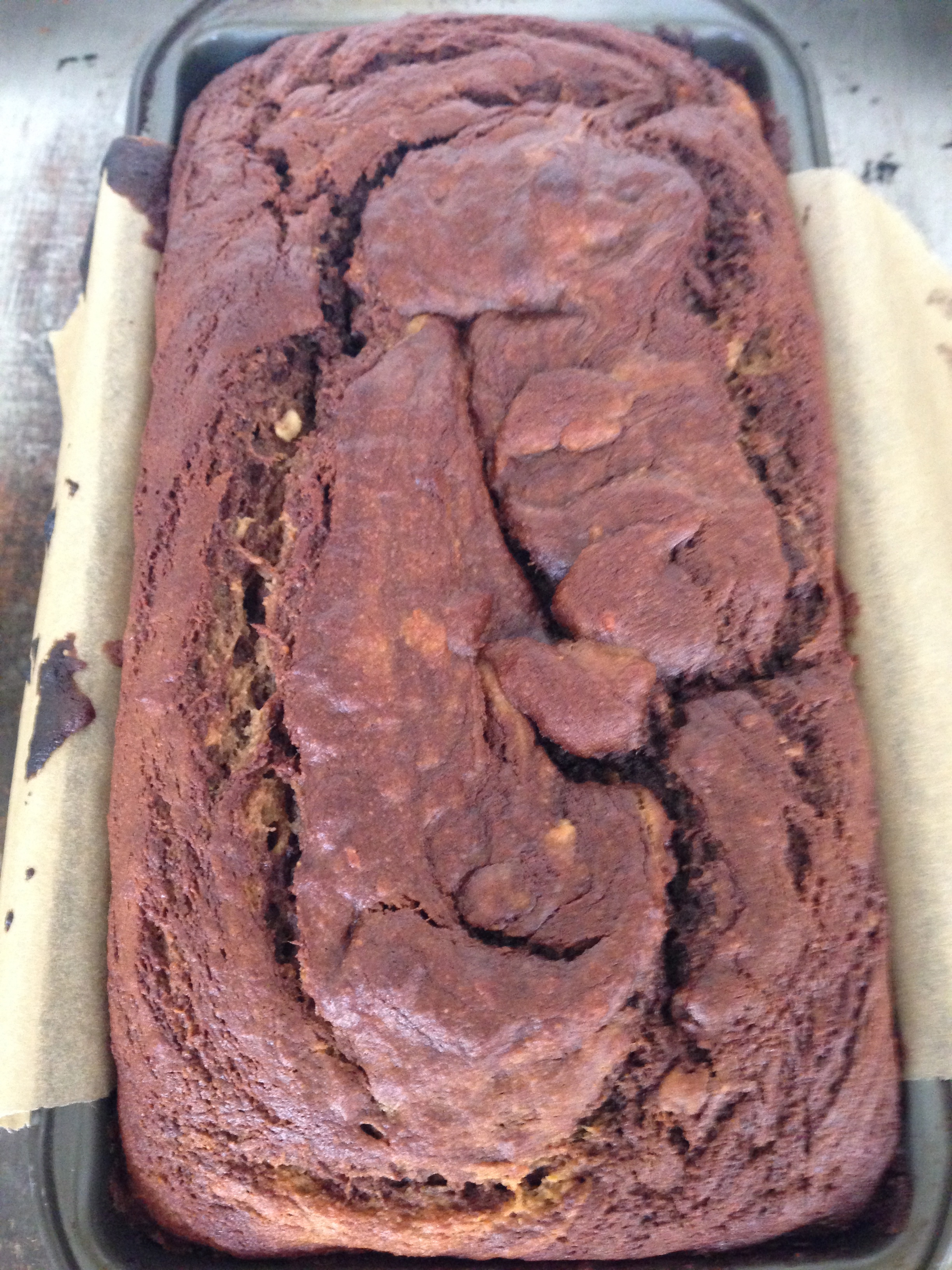 Paleo Kitchen Banana Cinnamon Swirl Bread