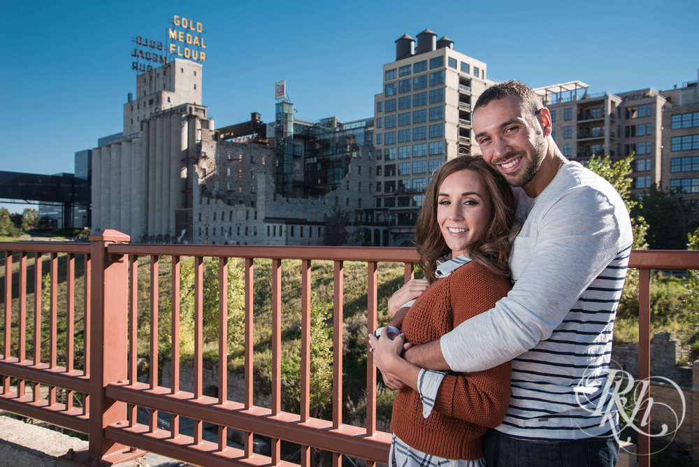 Brittany & Justin - Minneapolis Engagement Photography - Mill City Ruins -73