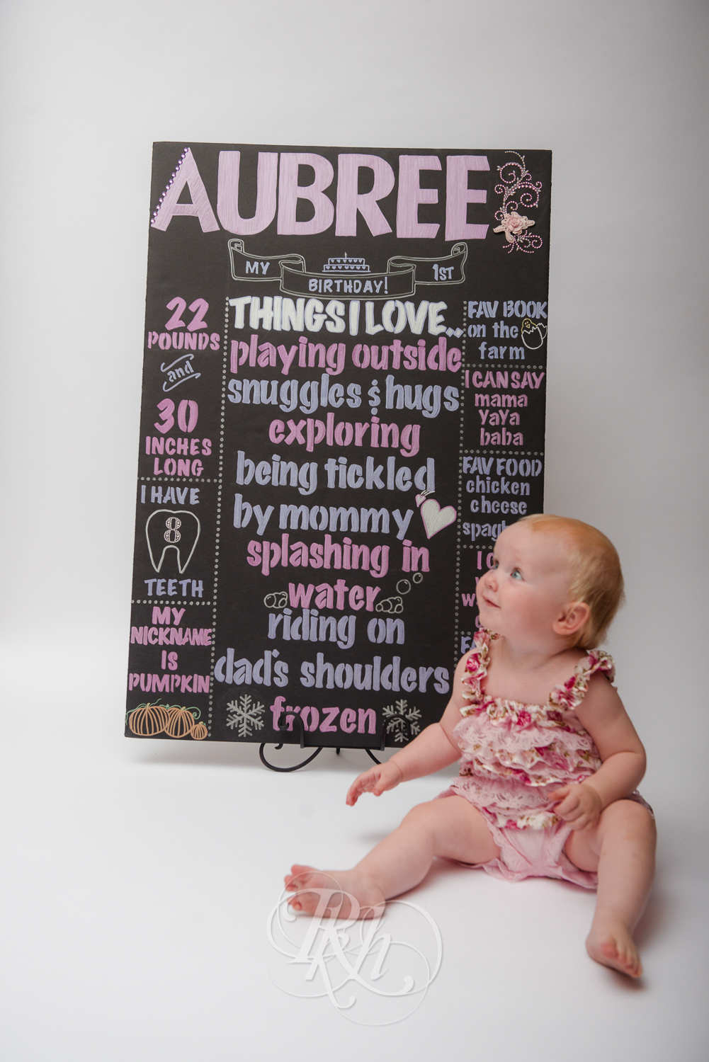 Burnsville Minnesota Baby Photography - Cake Smash - RKH Images-1