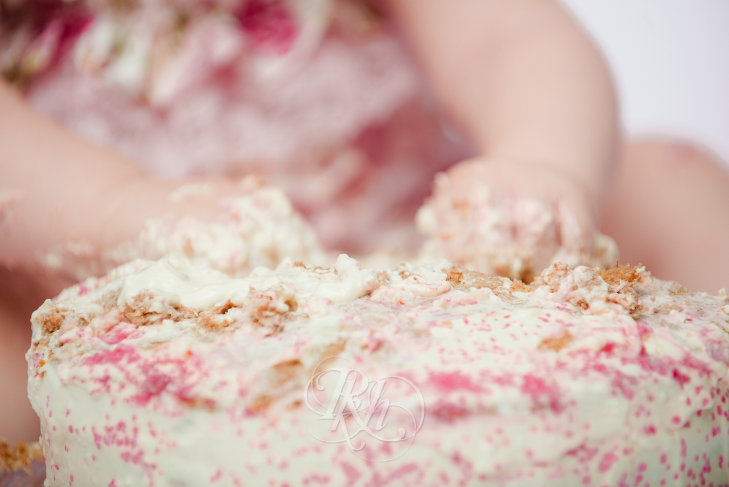 Burnsville Minnesota Baby Photography - Cake Smash - RKH Images-16