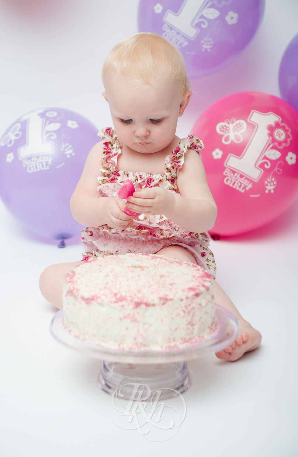 Burnsville Minnesota Baby Photography - Cake Smash - RKH Images-7