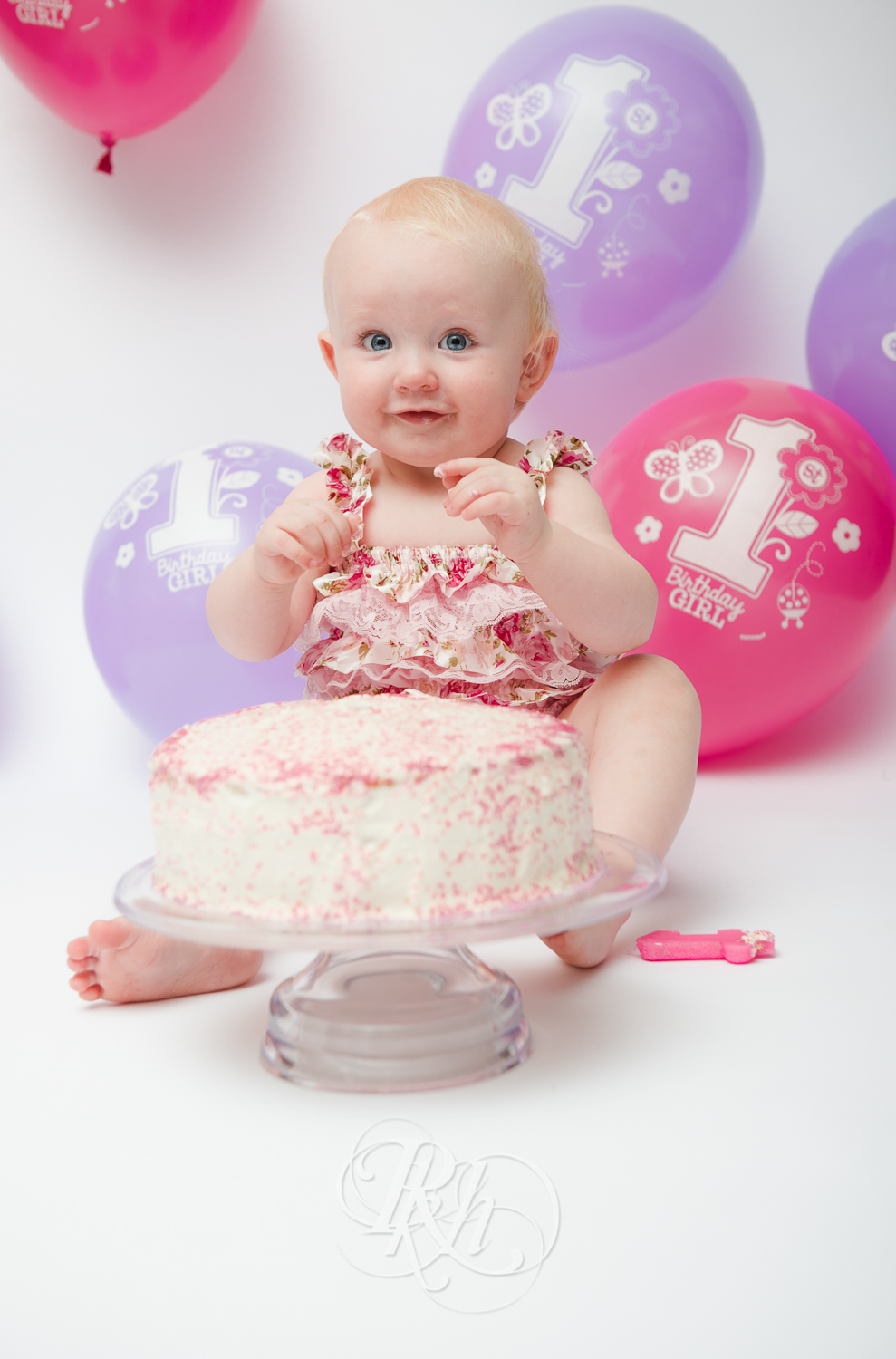 Burnsville Minnesota Baby Photography - Cake Smash - RKH Images-8
