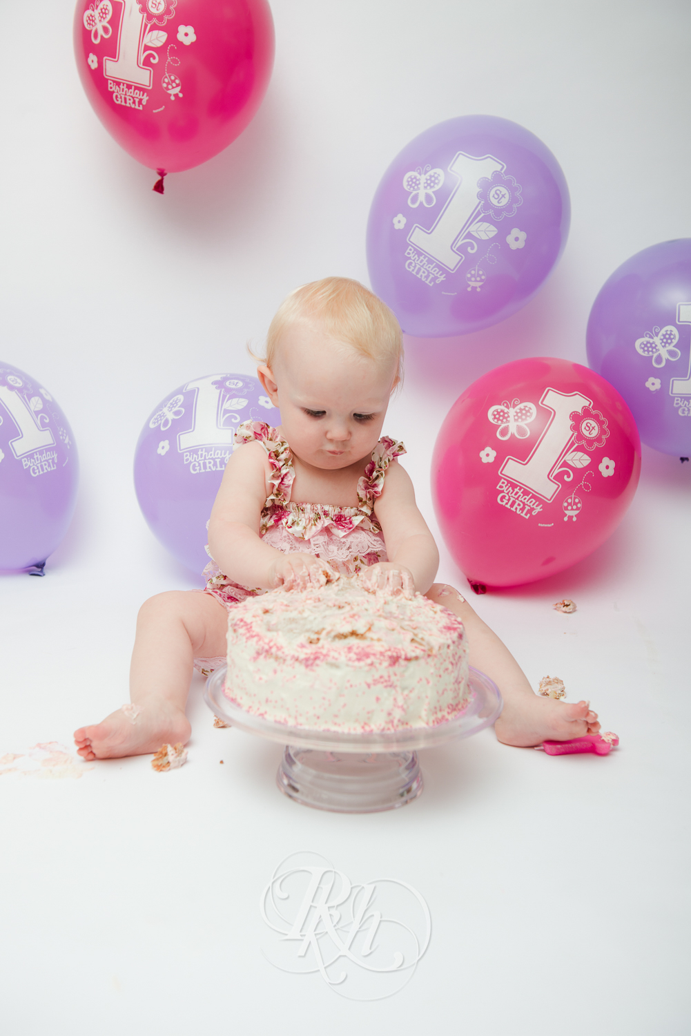 Burnsville Minnesota Baby Photography - Cake Smash - RKH Images-9