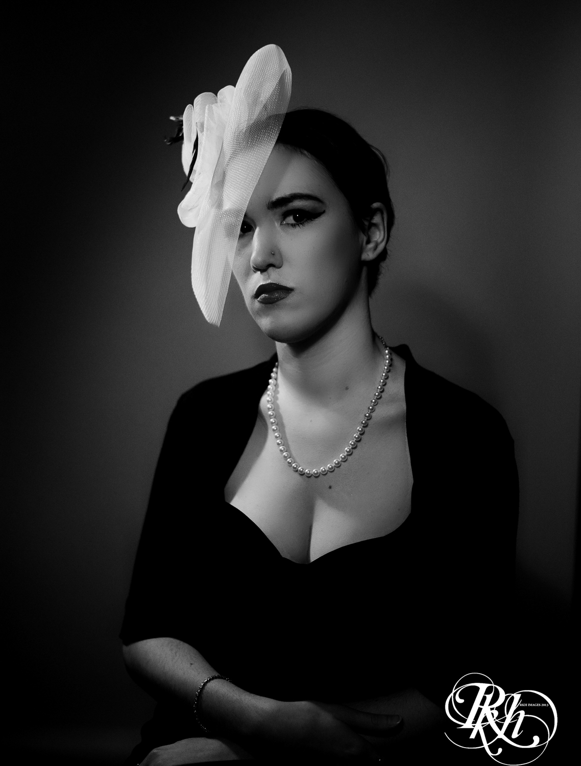 Old Hollywood Photo Shoot by RKH Images