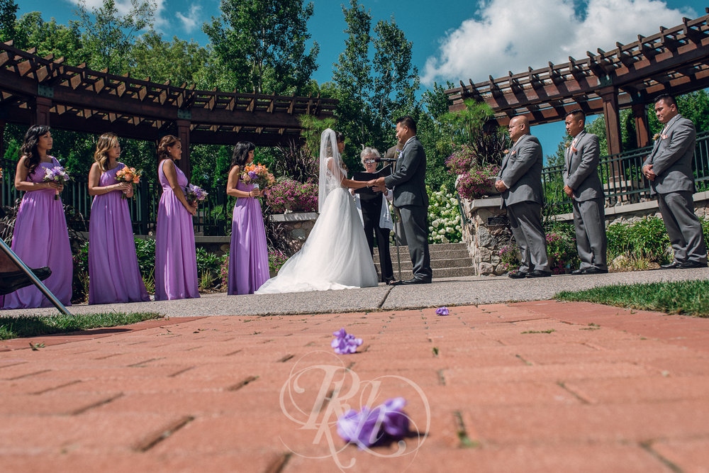 Thuy & Allen - MN Wedding Photography - Millenium Gardens -  RKH Images - Blog - Ceremony -1.jpg