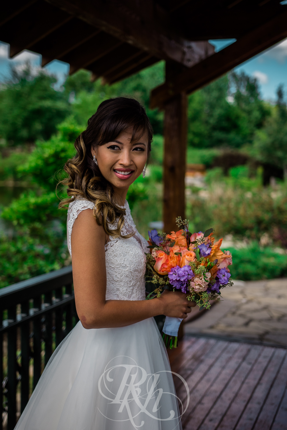 Thuy & Allen - MN Wedding Photography - Millenium Gardens -  RKH Images - Blog - First Look -1.jpg