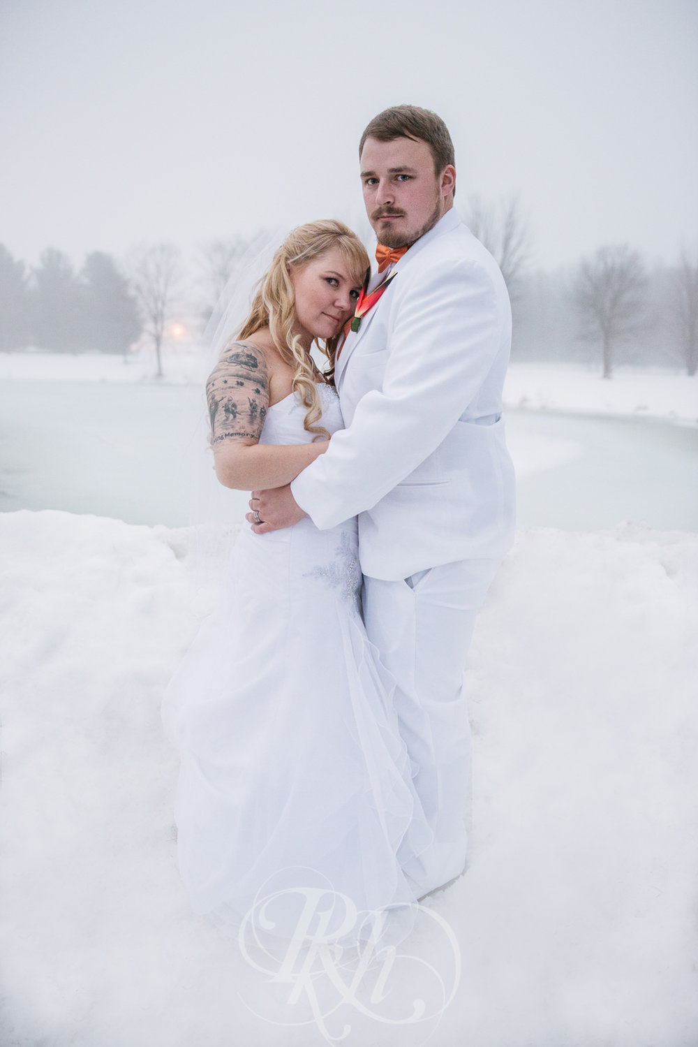 Krystal & Josh - Wisconsin Winter Wedding  Photography - RKH Images -22.jpg