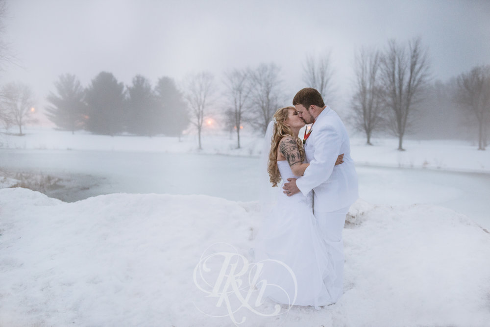 Krystal & Josh - Wisconsin Winter Wedding  Photography - RKH Images -23.jpg