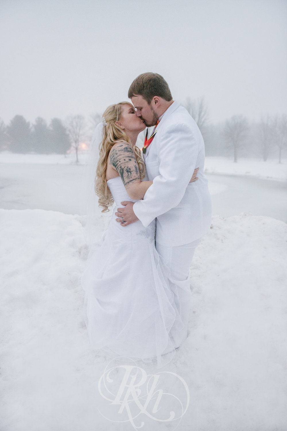 Krystal & Josh - Wisconsin Winter Wedding  Photography - RKH Images -24.jpg