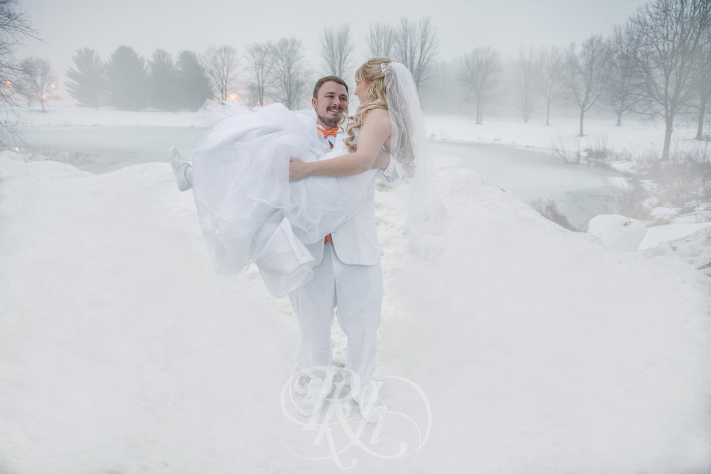 Krystal & Josh - Wisconsin Winter Wedding  Photography - RKH Images -25.jpg