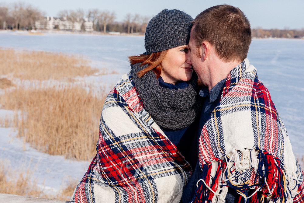 Lindsey & Jeremy - Minnesota Winter Engagement Photography - RKH Images -5.jpg