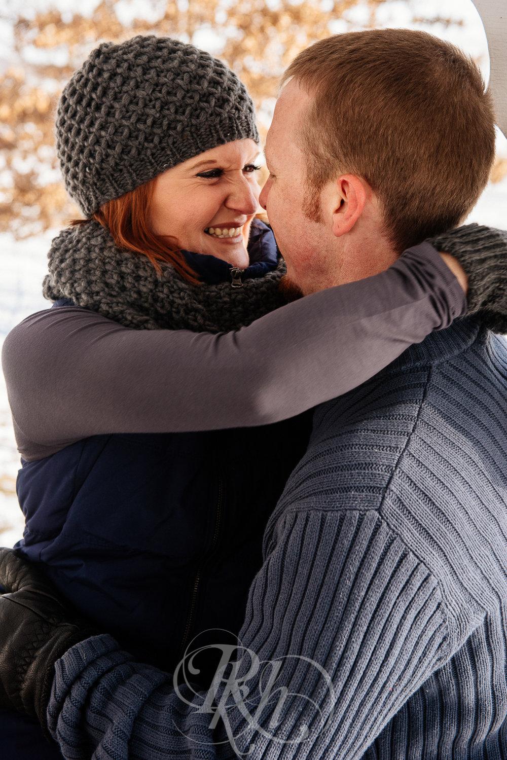 Lindsey & Jeremy - Minnesota Winter Engagement Photography - RKH Images -8.jpg
