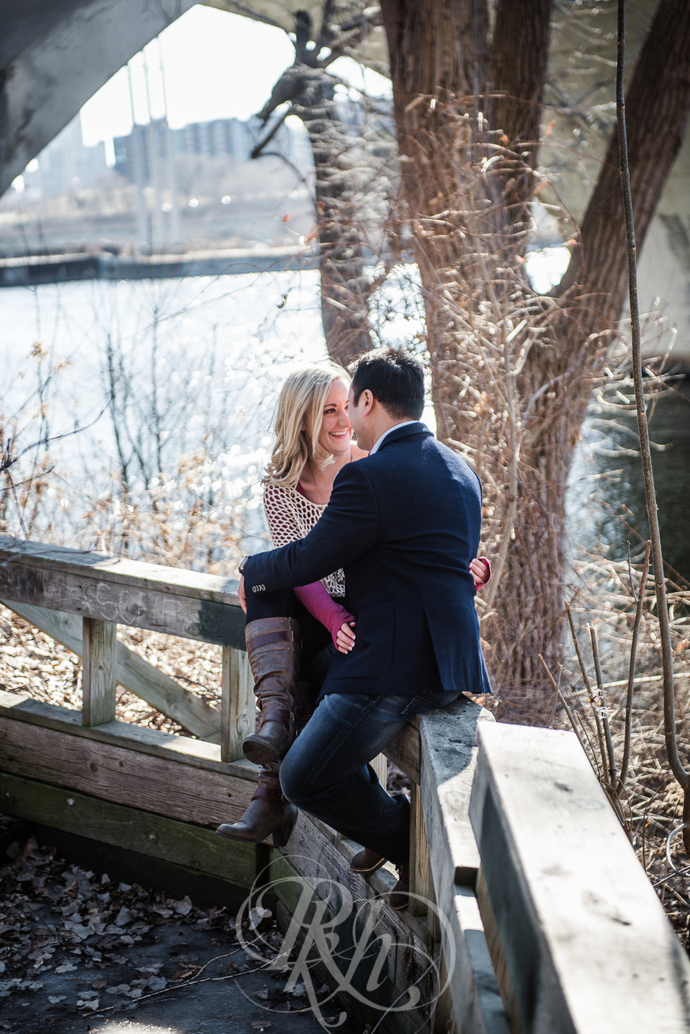 Justine & Patrick - Minnesota Winter Engagement Photography - RKH Images -3.jpg