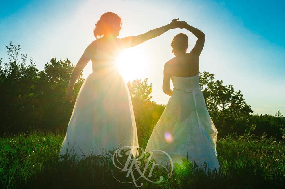 Britni & Paige - LGBT Minnesota Wedding Photography - Spirit Mountain - RKH Images  (28 of 32).jpg