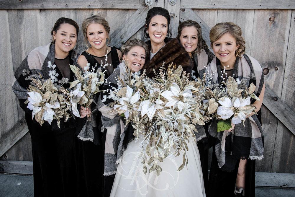 Bridget & Luke - Minnesota Wedding Photography - Creekside Farm Weddings and Events - Winter Wedding - RKH Images  (33 of 60).jpg