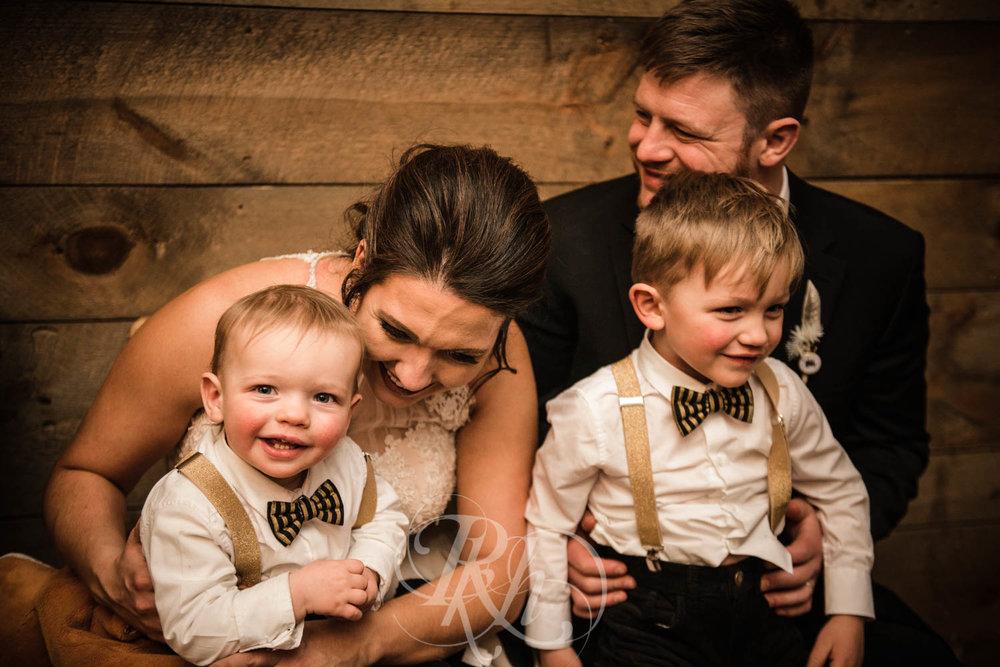 Bridget & Luke - Minnesota Wedding Photography - Creekside Farm Weddings and Events - Winter Wedding - RKH Images  (53 of 60).jpg