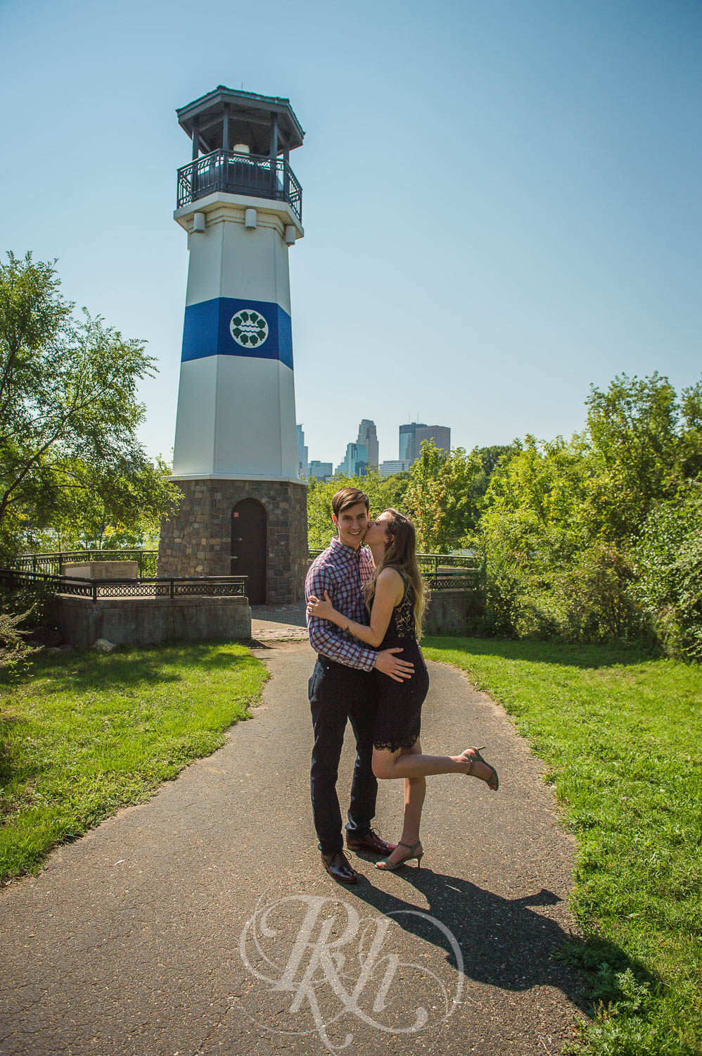 Tiffany & Troy - Minnesota Engagement Photography - St. Anthony Main - RKH Images  (4 of 12).jpg
