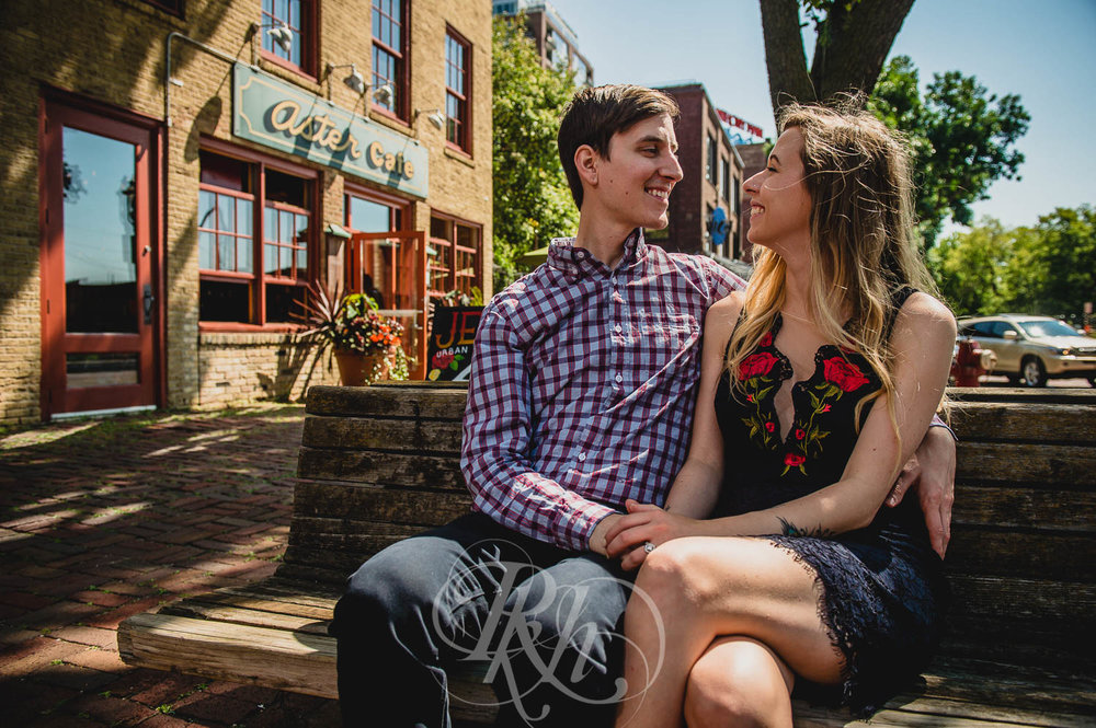 Tiffany & Troy - Minnesota Engagement Photography - St. Anthony Main - RKH Images  (6 of 12).jpg