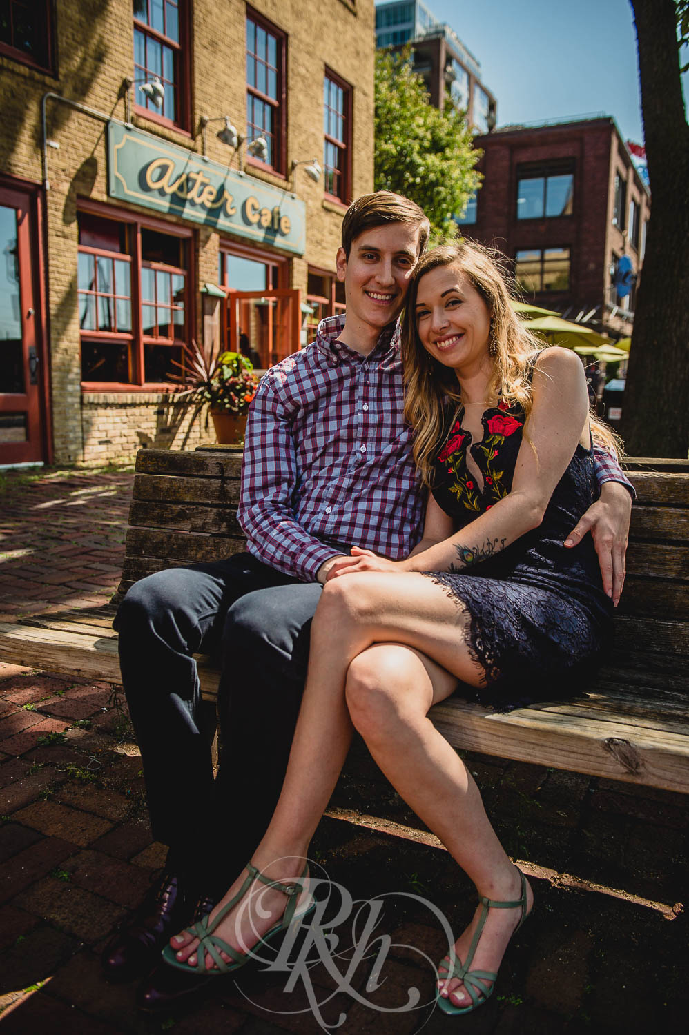 Tiffany & Troy - Minnesota Engagement Photography - St. Anthony Main - RKH Images  (7 of 12).jpg