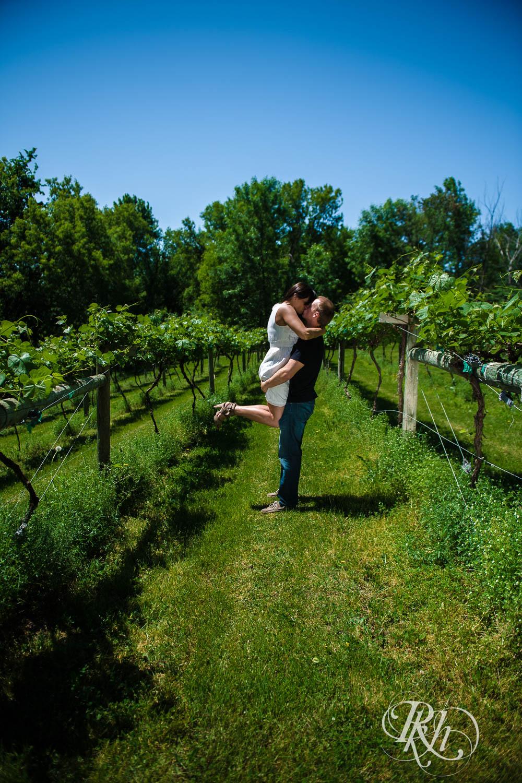 Nicole & Blake - Minnesota Engagement Photography - Winehaven Winery - RKH Images  (2 of 12).jpg