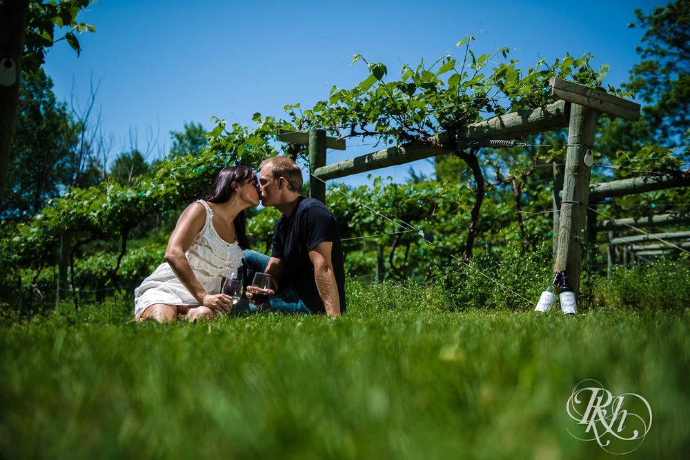 Nicole & Blake - Minnesota Engagement Photography - Winehaven Winery - RKH Images  (7 of 12).jpg