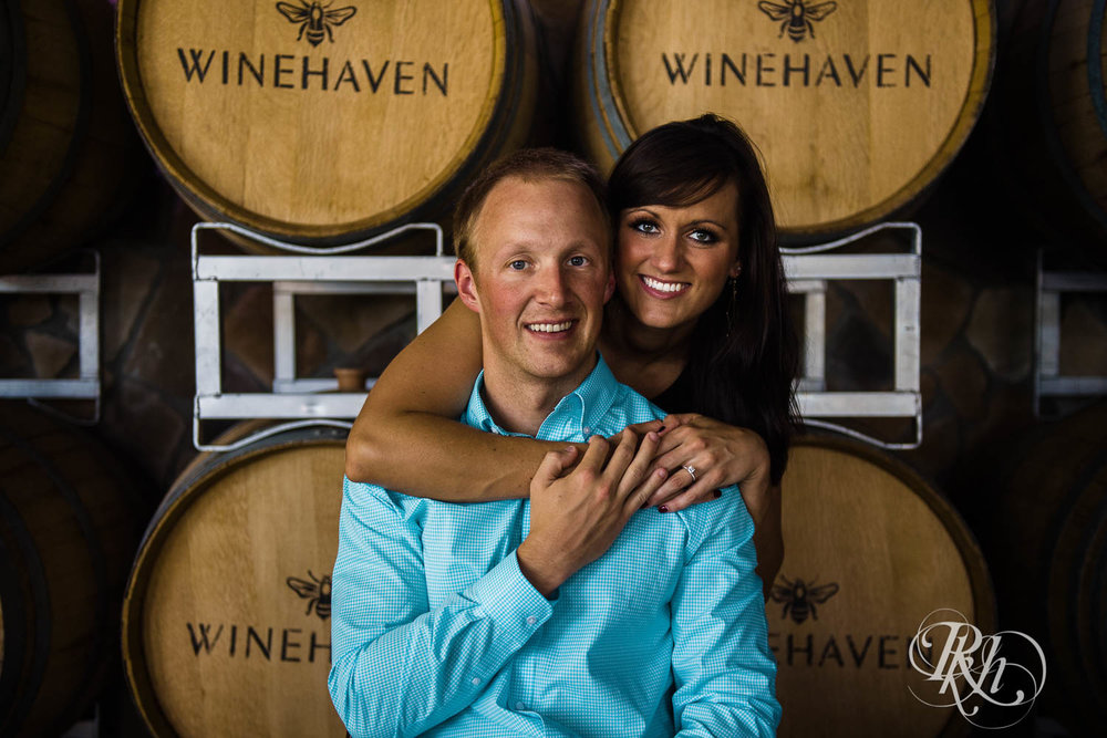 Nicole & Blake - Minnesota Engagement Photography - Winehaven Winery - RKH Images  (9 of 12).jpg