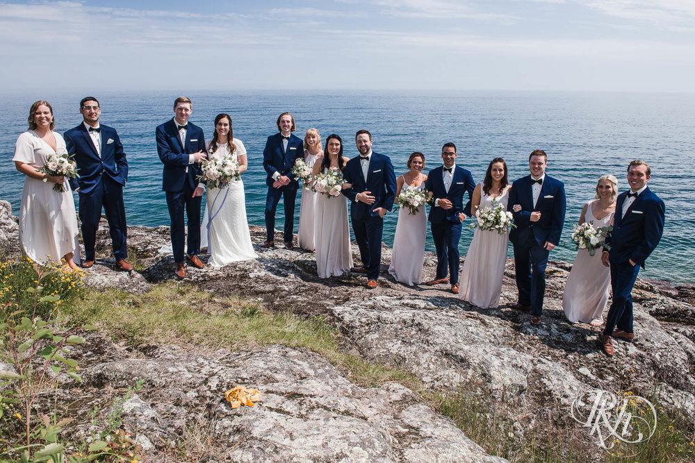 Kayla & John - Minnesota Wedding Photography - North Shore Wedding Photography - Bluefin Bay - RKH Images   (28 of 55).jpg