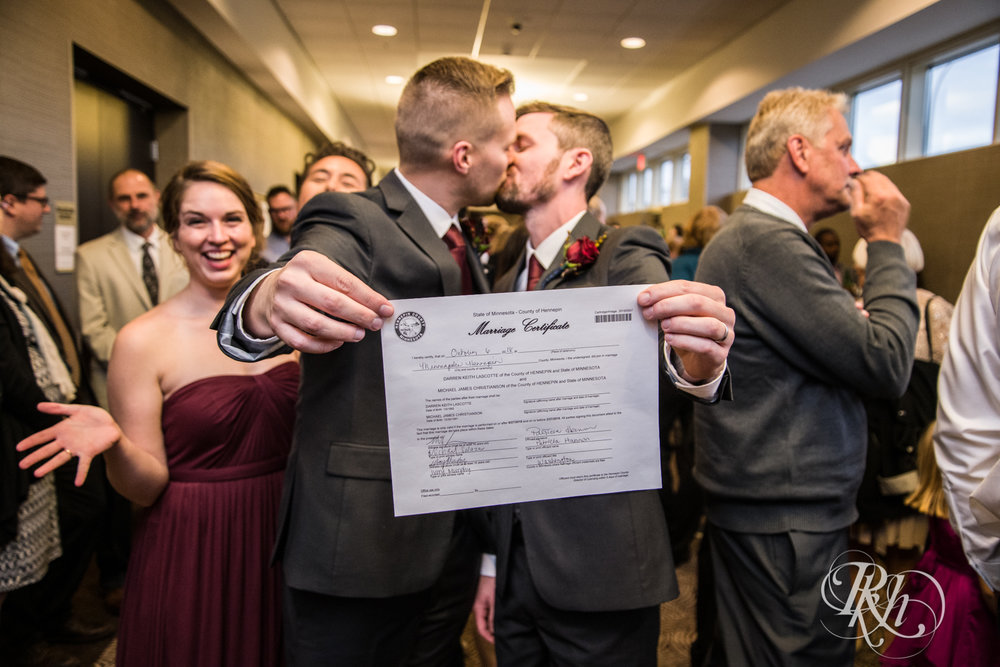 Michael & Darren - Minnesota LGBT Wedding Photography - Courtyard by Marriott Minneapolis - RKH Images - Blog (48 of 67).jpg