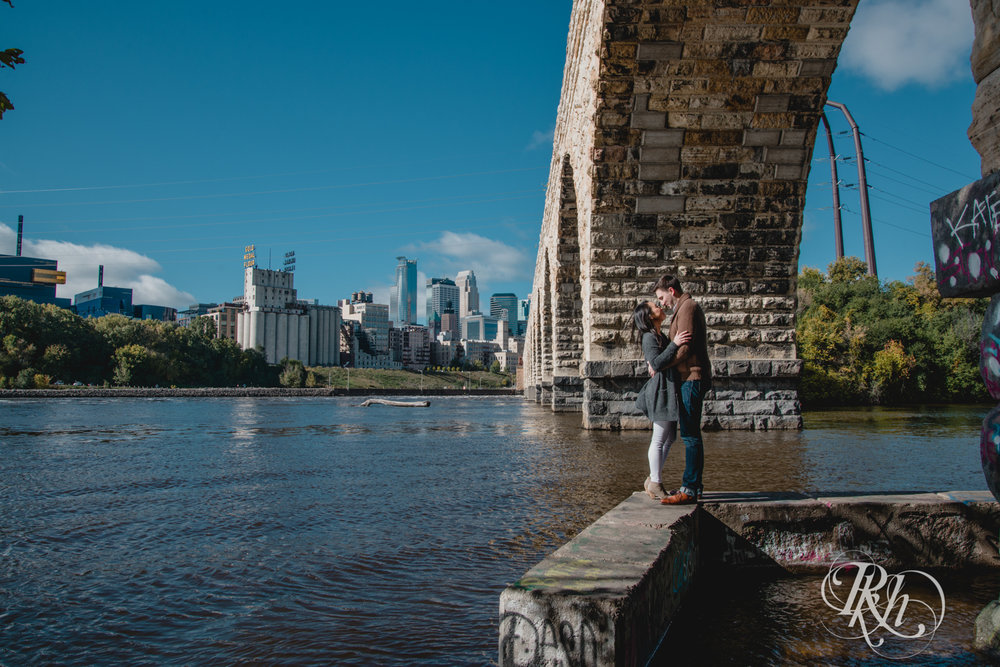 Courtney and Nick - Minnesota Engagement Photography - Stone Arch Bride - RKH Images (12 of 14).jpg