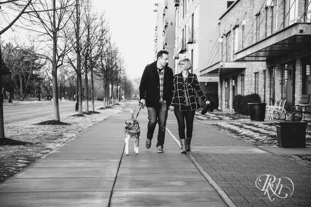 Kate & Kyle - Minnesota Sunrise Engagement Photography - Stone Arch Bridge - RKH Images (14 of 18).jpg