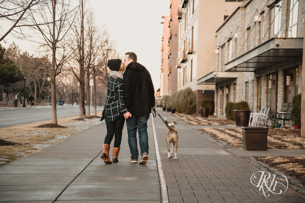 Kate & Kyle - Minnesota Sunrise Engagement Photography - Stone Arch Bridge - RKH Images (13 of 18).jpg