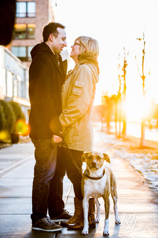 Kate & Kyle - Minnesota Sunrise Engagement Photography - Stone Arch Bridge - RKH Images (15 of 18).jpg