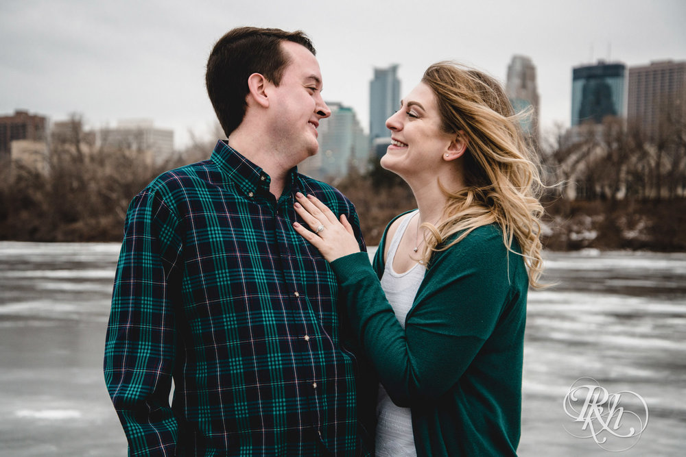 Libby & Ian - Minneapolis Engagement Photography - Honey Lounge - RKH Images (1 of 26).jpg
